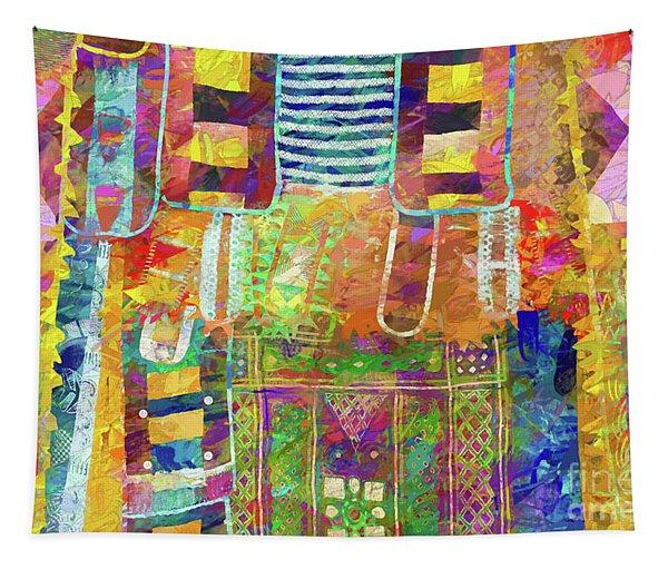 Mosaic Garden Tapestry