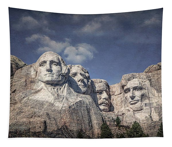 Mount Rushmore I Tapestry