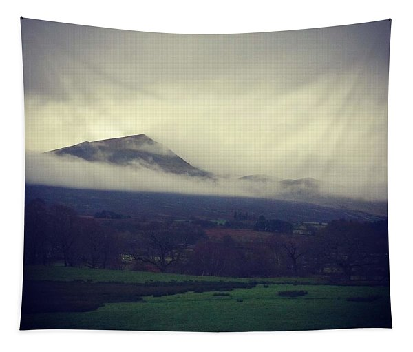 Mountain Cloud Tapestry