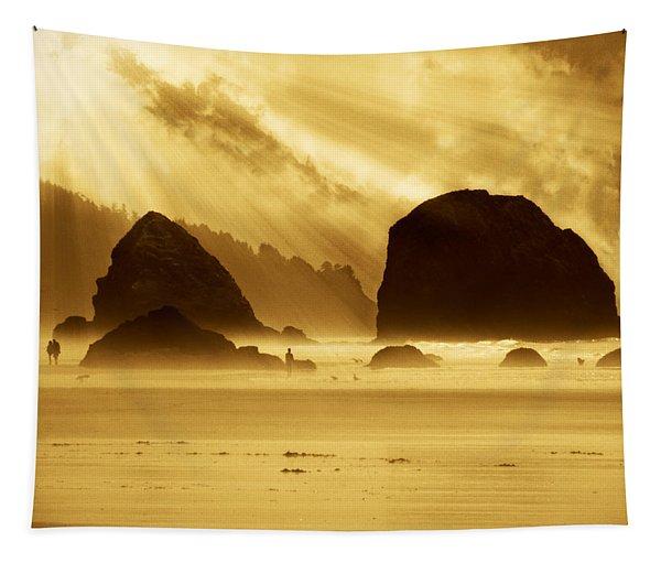 Mystical Beach Tapestry