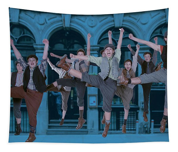 Newsies At The Artisan Center Theater Tapestry