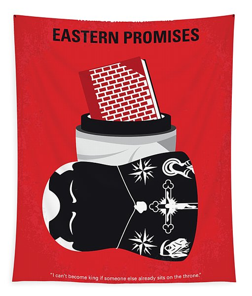 No969 My Eastern Promises Minimal Movie Poster Tapestry