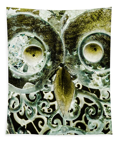 Nocturnal Night Owl Tapestry