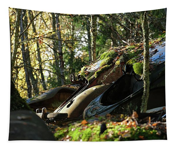 Old Cars Tapestry