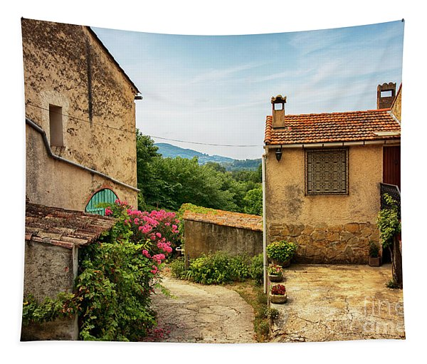 old village near La Castelet Tapestry