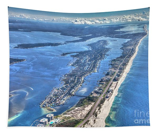 Ono Island-5112-tm Tapestry
