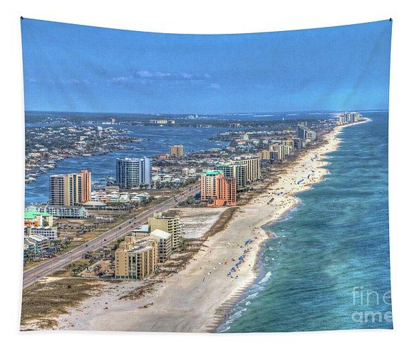 Orange Beach East Tapestry