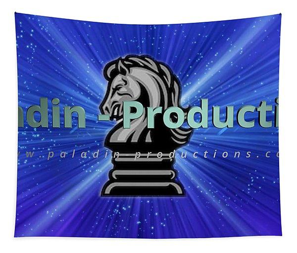 Paladin Productions Logo Tapestry
