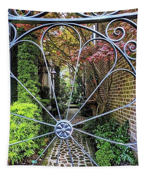 Peek-a-boo Garden Tapestry