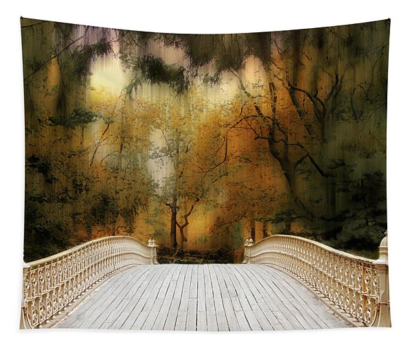Pine Bank Arch In Autumn Tapestry