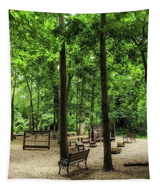 Play In The Shade Tapestry