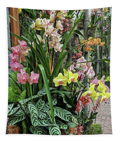 Plentiful Orchids Tapestry