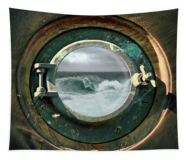 Porthole View Tapestry