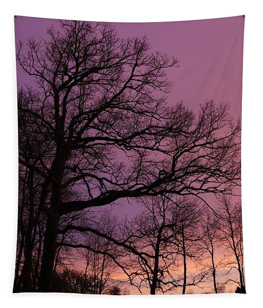 Purple Dawn Tapestry