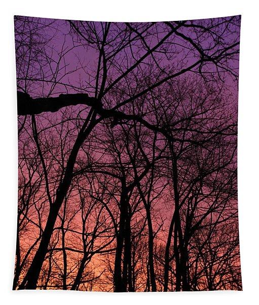 Purple Sky Tapestry