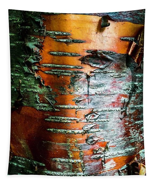 Red Birch Tapestry