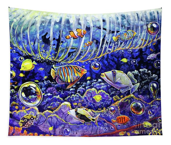 Reef Break Tapestry