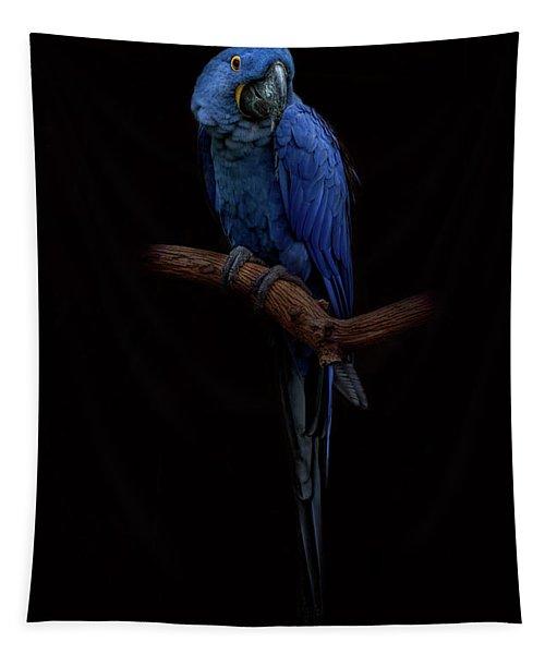 Royal Blue Beauty  Tapestry