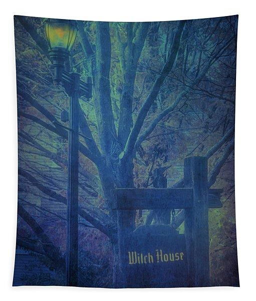 Salem Massachusetts  Witch House Tapestry