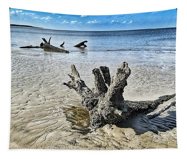 Sculpted By The Sea Tapestry