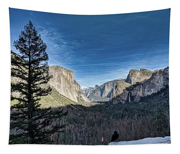 Shadows In The Valley Tapestry