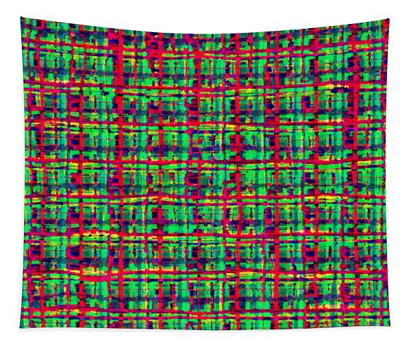 Shapes Lines And Colors - Ddf634 Tapestry