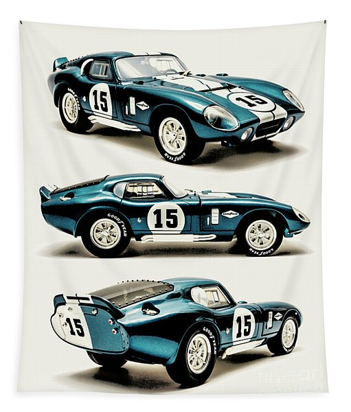 Shelby Cobra Daytona Tapestry