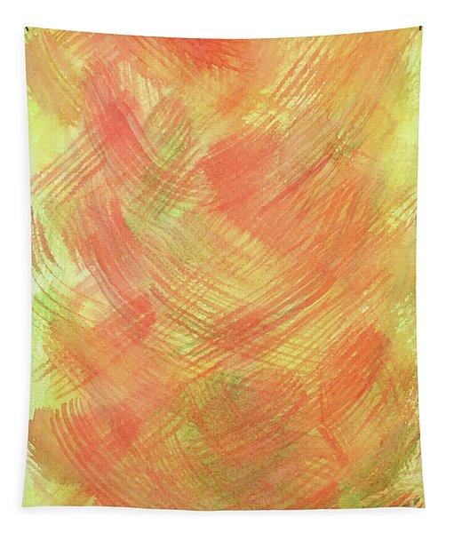 Soft Orange Colors 2 Tapestry