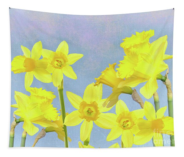 Spring Daffodil Beauty Tapestry