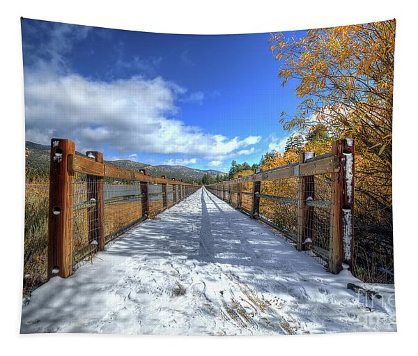 Stanfield Marsh Wildlife And Waterfowl Preserve Bridge Tapestry