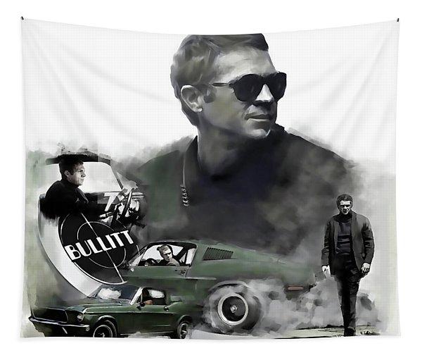 Steve Mcqueen 50 Bullitt Tapestry