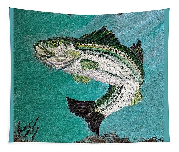 Striper #2 Tapestry