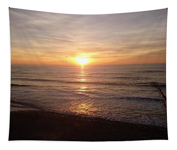 Sunset Blackpool Tapestry