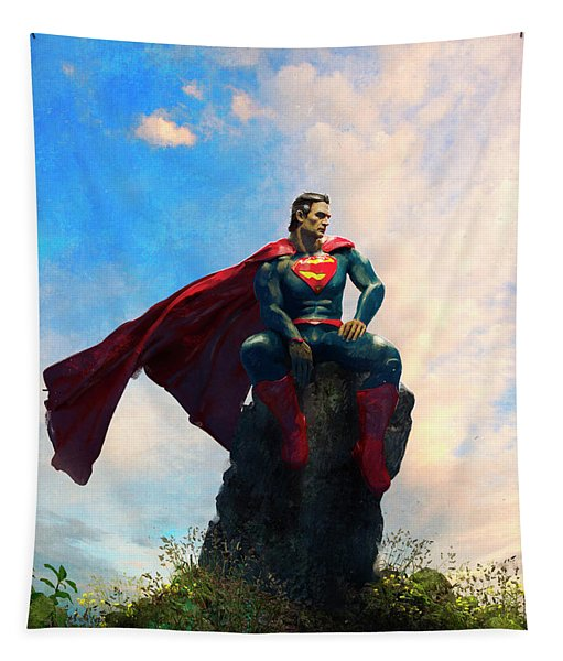 Superman Tapestry