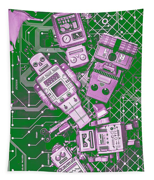 Tech Borg Centre Tapestry