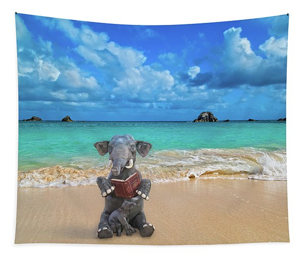 The Beach Story Tapestry