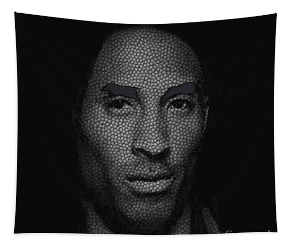 The Black Mamba Tapestry
