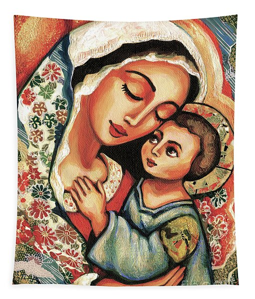 The Blessed Mother Tapestry