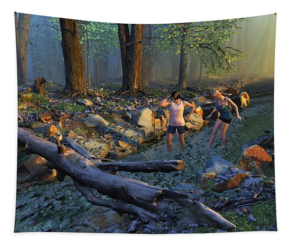 The Crawfish Games Tapestry