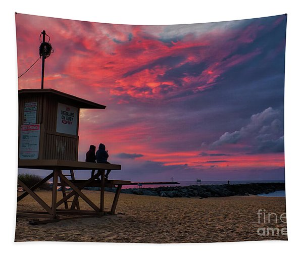 The Last Sunrise Of 2018 At The Wedge Tapestry