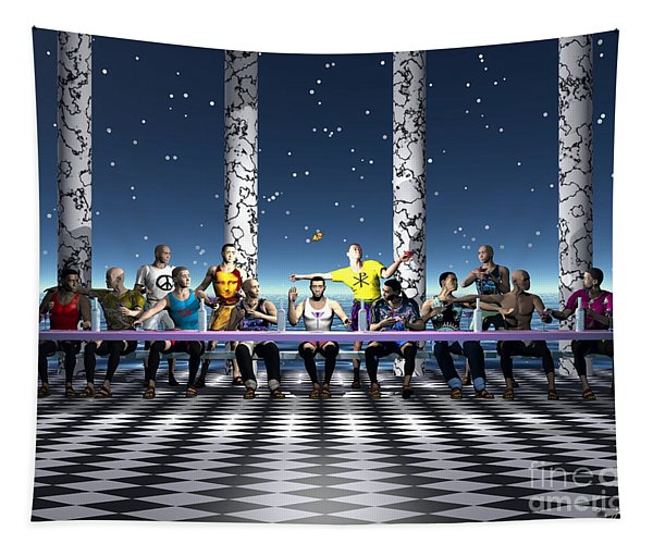 The Last Supper 2 Tapestry