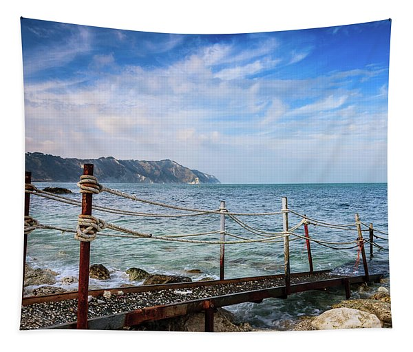 The Winter Sea #2 Tapestry