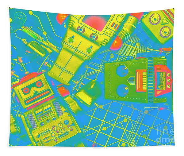 The Wonderful Future - A Playtime Pretend Tapestry