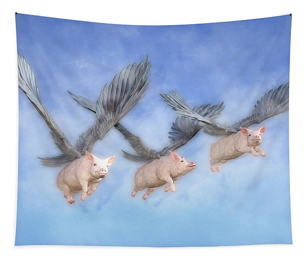 Three Little Pigs  Tapestry