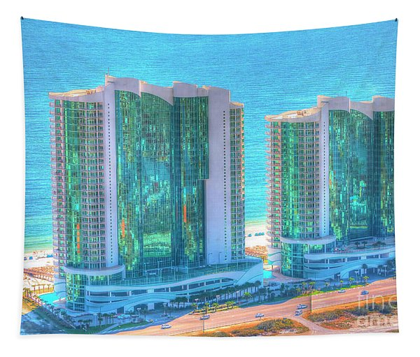 Turquoise Place Tapestry