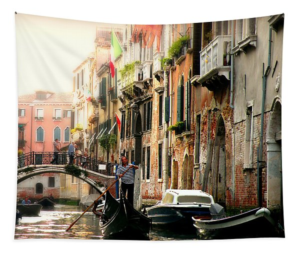 Venice Canals Tapestry