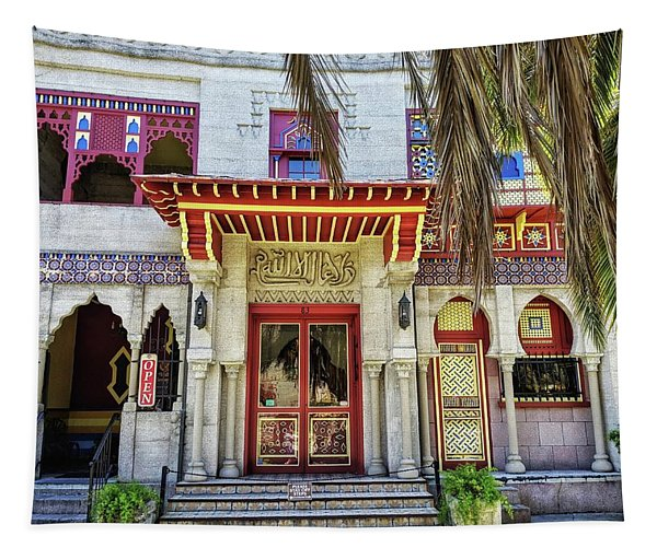 Villa Zorayda Tapestry
