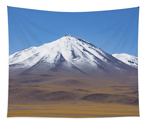 Volcano On The Altiplano Tapestry