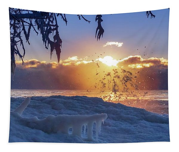 Wave Crest Tapestry