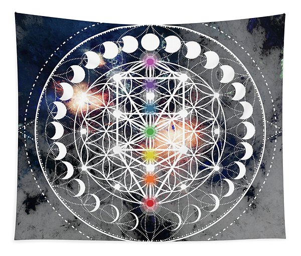 We Are Beings Of Light Tapestry